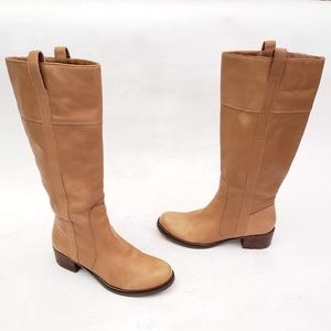 Lucky Brand Leather Tall Boots - Size 8.5